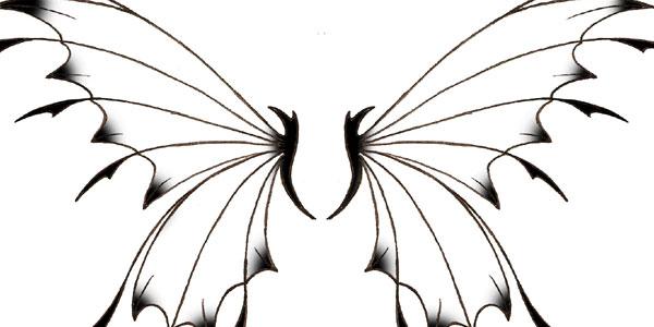 600x300 Fairy Tattoo Clip Art