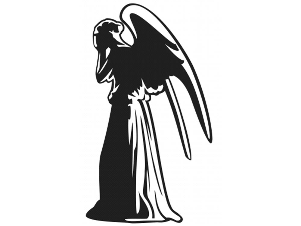 1000x750 Weeping Angel By Stickeesbiz