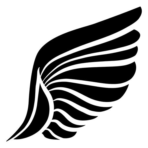 512x512 Angel Wings Illustration Pack With Feathers