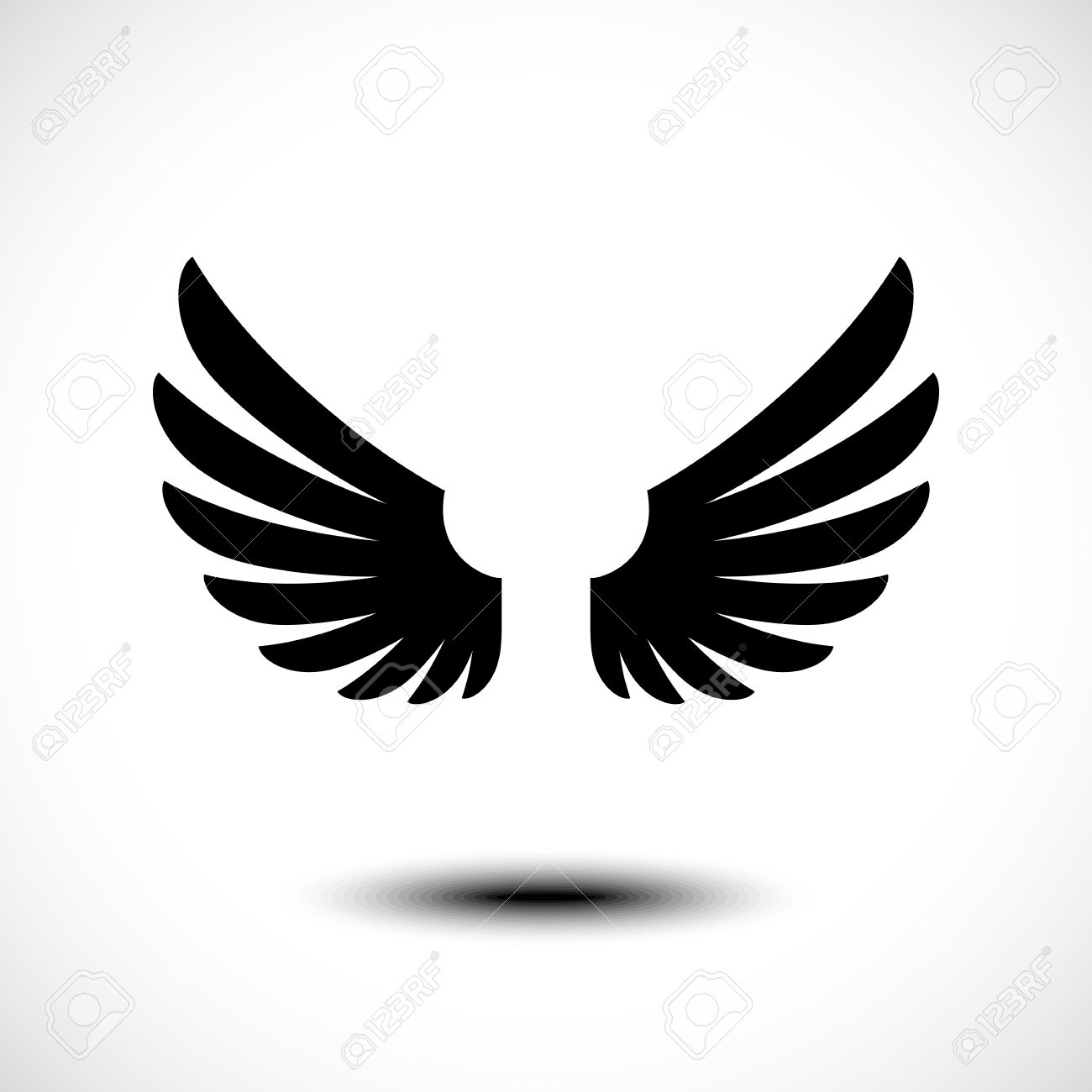 1300x1300 Free Vector Angel Wings Collection