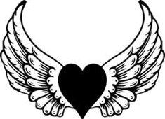 235x170 Christian Symbol Black Line Art For Kids Angel Wings Clip Art