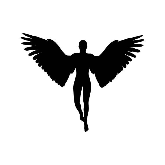 570x570 Angel Wings Holy Jesus Graphics Svg Dxf Eps Png Cdr Ai Pdf Vector