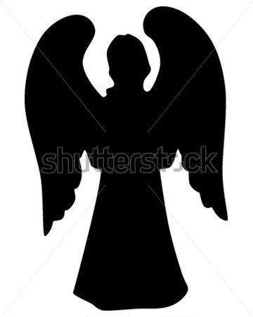 360x450 Silueta De Angel