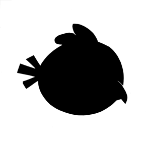 Angry Birds Silhouette