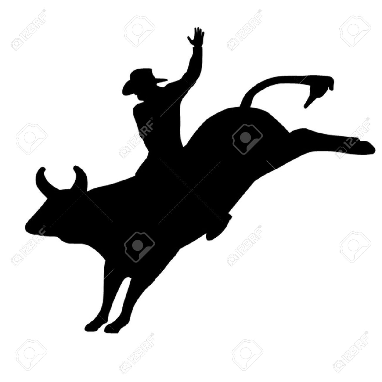 1300x1300 Bull Clipart Riding