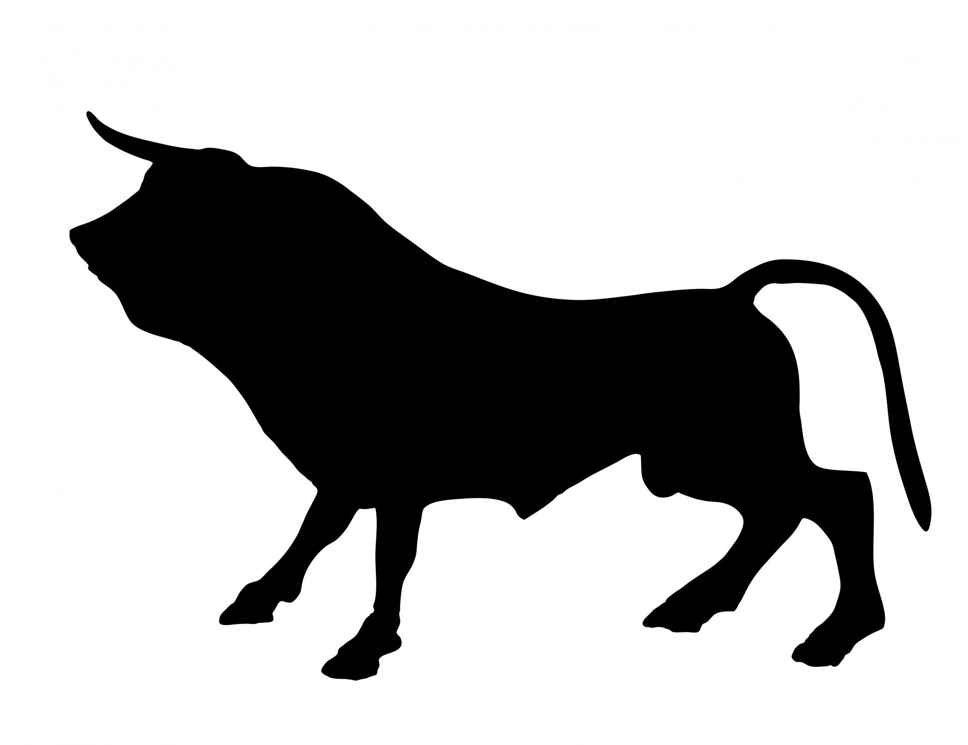 1919x1477 Bull Clipart Silhouette