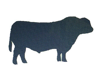 340x270 Bull Embroidery Etsy