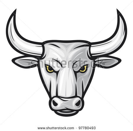 450x444 Drawn Bulls Bull Head