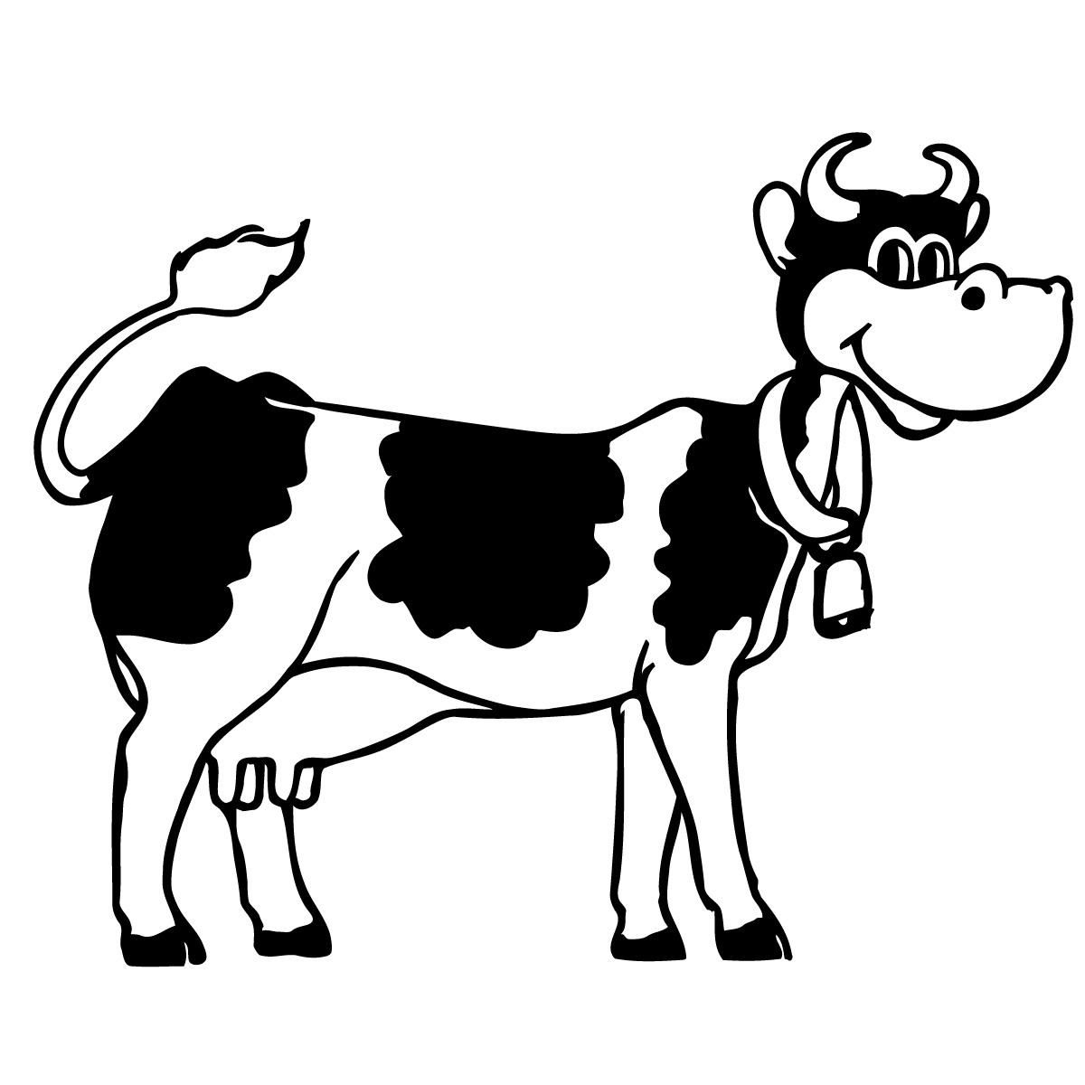 1200x1200 Black Angus Bull Silhouette Clipart
