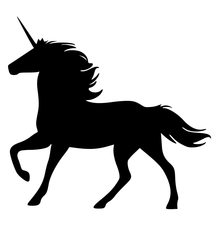 1406x1500 Best Unicorn Silhouette