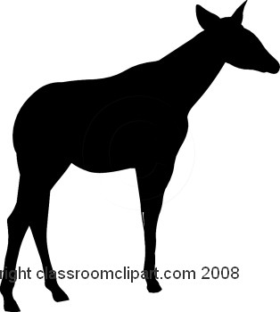 314x350 Silhouettes Clipart Animal Silhouette 1108 2