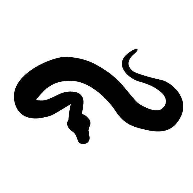 640x640 Snake Animal Silhouette Free Illustrations