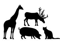 236x165 Free Animal Silhouettes