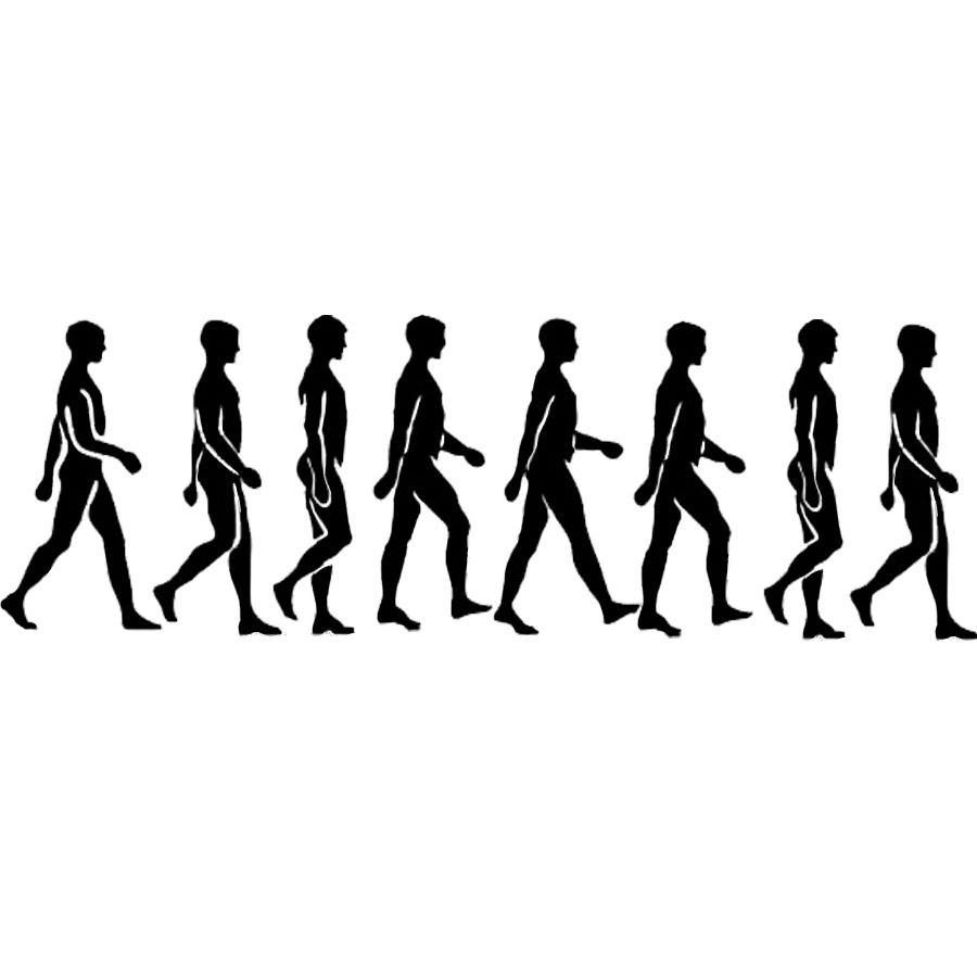 900x884 Walking Person Animation Clipart