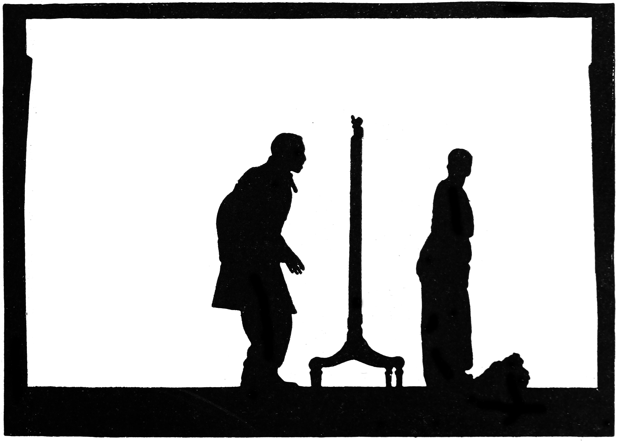 1973x1408 The Animation Silhouette By C. Allan Gilbert
