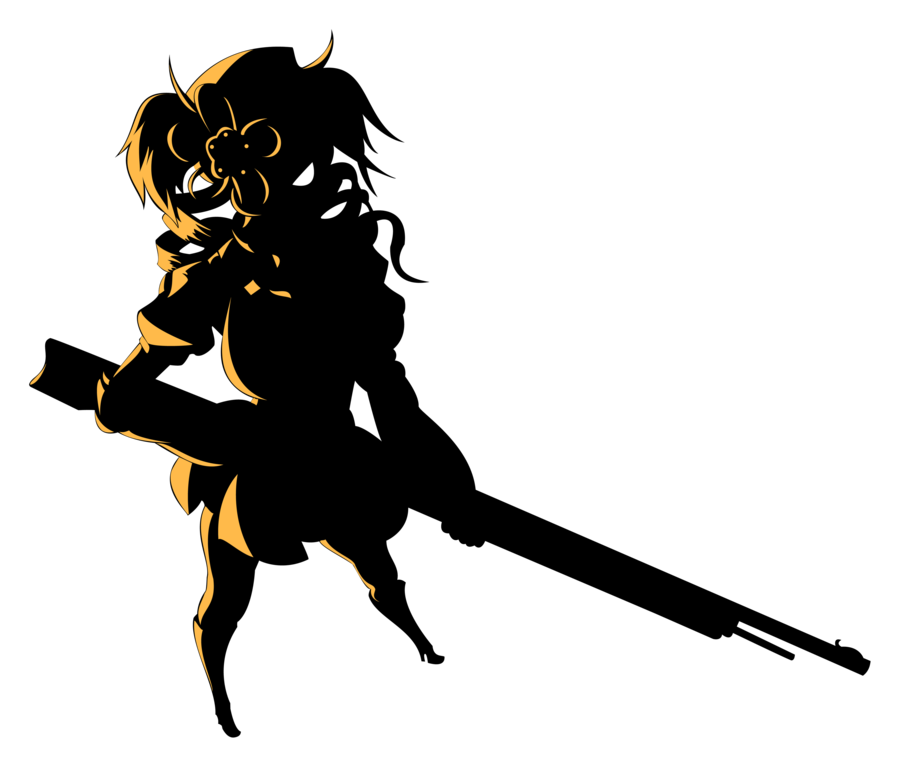 900x767 Mami Silhouette Vector by Saioul on DeviantArt