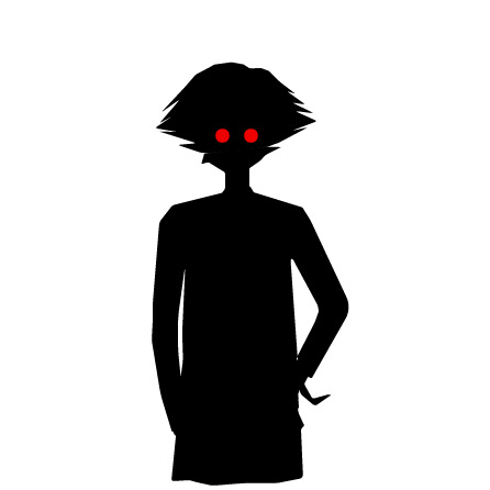446x446 Creepy Anime Silhouette by zombi3land on DeviantArt