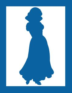 236x305 Anna Silhouette Princess Party Silhouettes, Anna