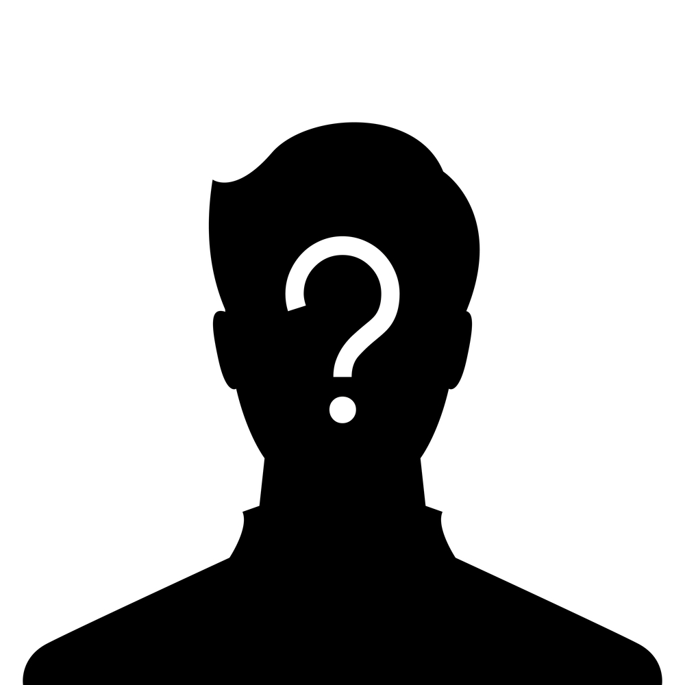 1000x1000 Profile Clipart Mystery Person