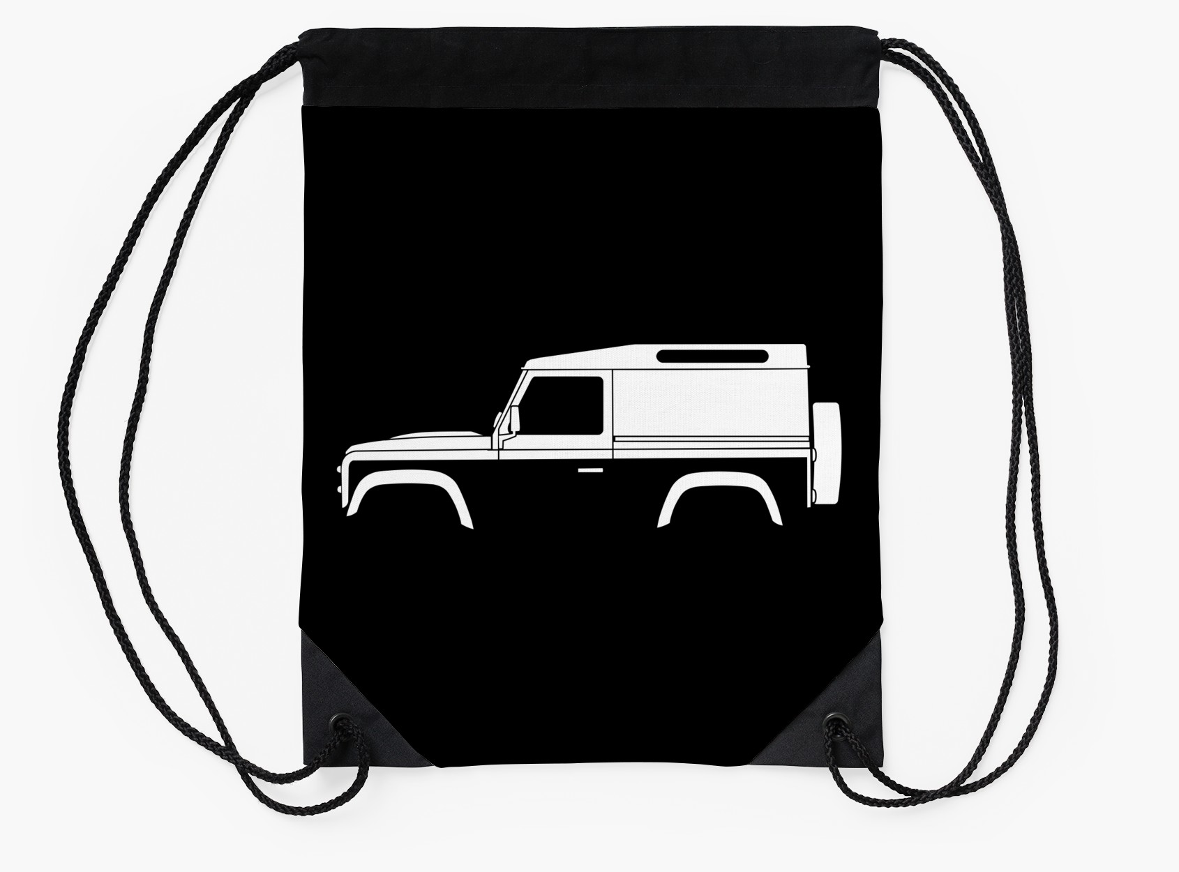 1690x1250 Car Silhouette For Land Rover Defender 90 Van Enthusiast (Version