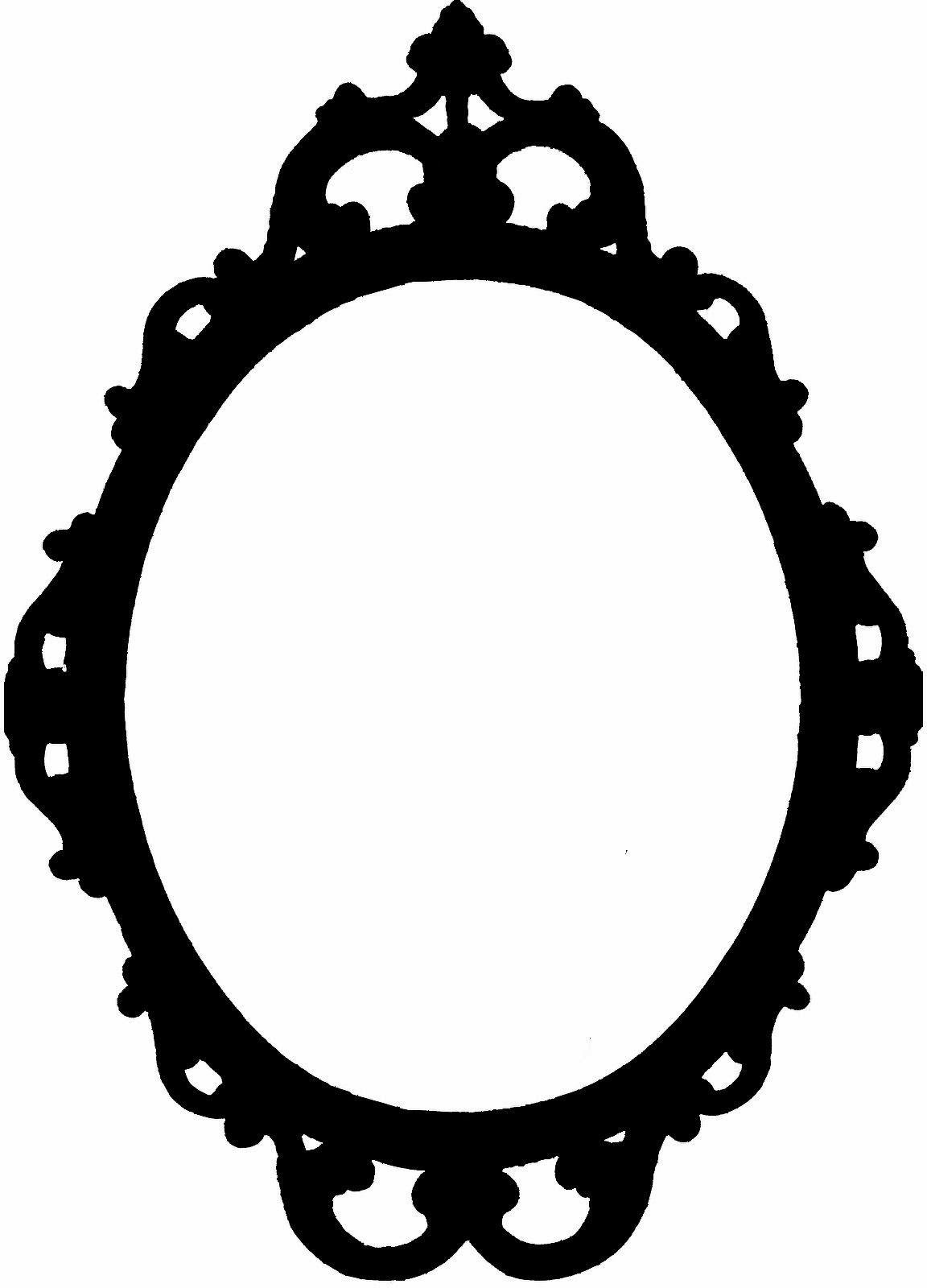 1152x1600 Marco Vintage Para Cortar Con Nuestra Silhouette Tablero
