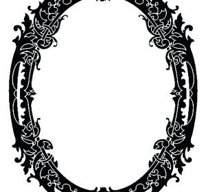 300x280 Black And Gold Antique Picture Frames Old Black Picture Frames