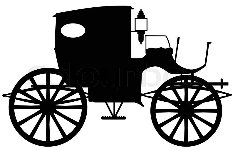 800x514 List Of Synonyms And Antonyms Of The Word Old Wagon Silhouette