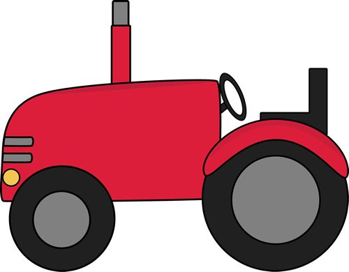 500x390 Tractor Clipart Simple