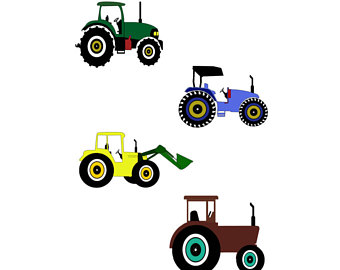 340x270 Tractor Svg Etsy