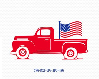 340x270 Old Truck Cut File Etsy