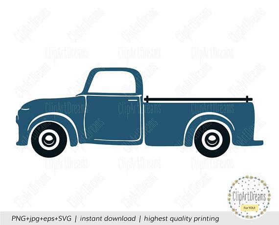570x460 Boy Truck Svg, Truck Svg Files, Antique Truck Svg, Vintage Truck