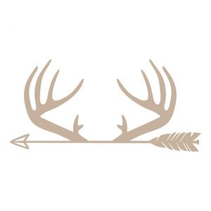 300x300 Silhouette Design Store Antlers Arrow Sophie Gallo Design