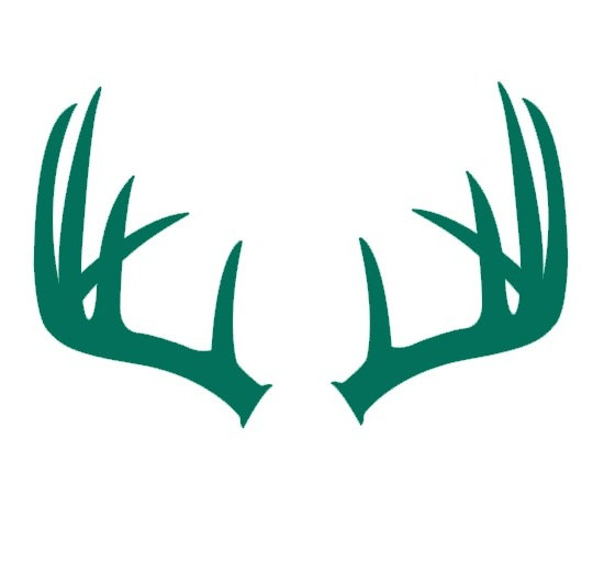540x523 Deer Antlers Decal Antlers Decal Antlers Silhouette Gifts
