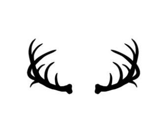 340x270 Horns Clipart Deer Antler