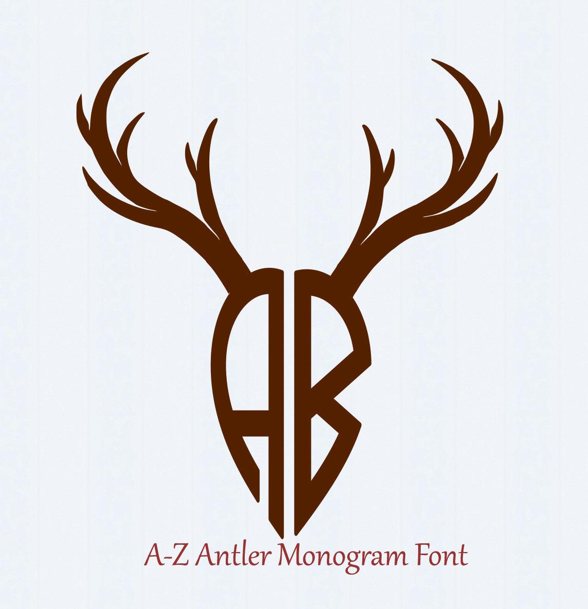 1146x1187 Deer Antler Svg, Antler Font Svg, Antler Alphabet, Digital Letters