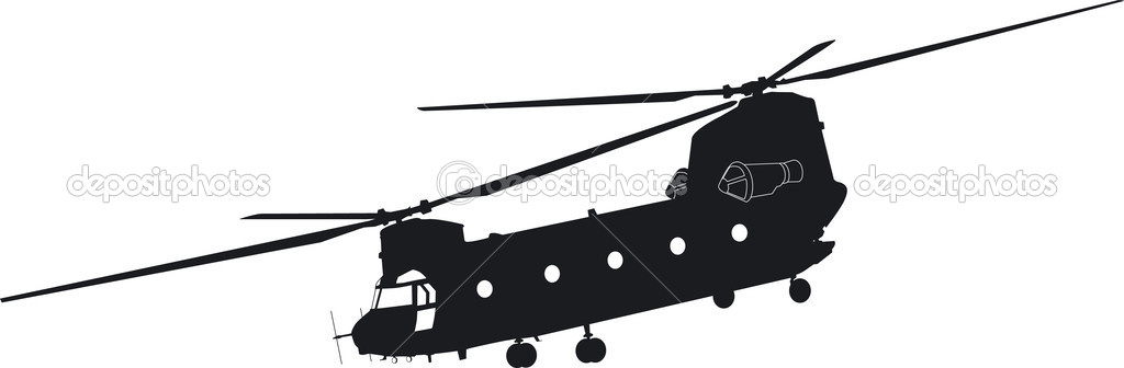 1024x336 Chinook Helicopter Clipart