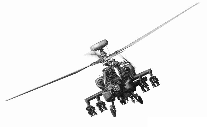 800x492 Longbow Apache Helicopter Clipart