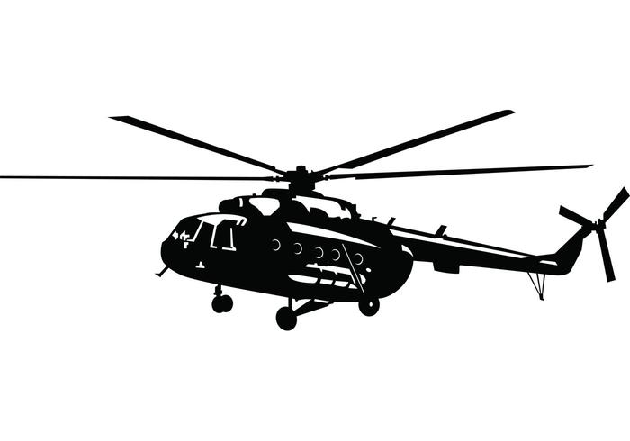 700x490 Military Helicopter Free Vector Art