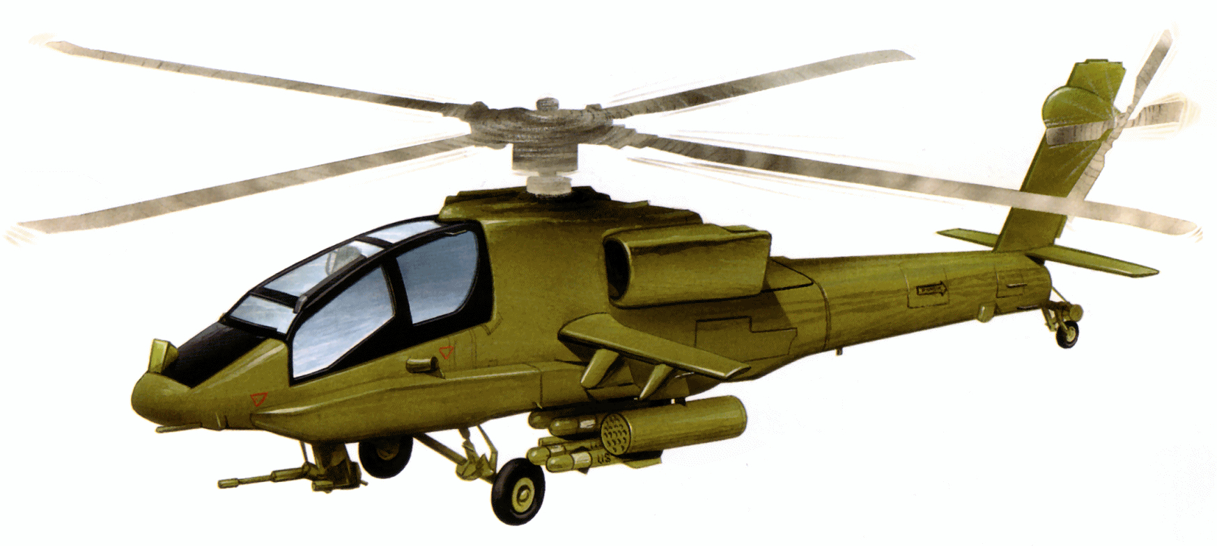 1747x784 Apache Helicopter Cliparts