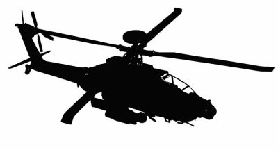 400x216 Apache Helicopter Silhouette Car Wallpaper Hd Free