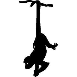 300x300 Hanging Monkey