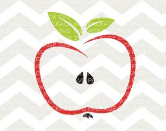 340x270 Apple Svg Handdrawn Apple Svg Rustic Apple Svg Handdrawn