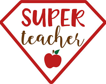 340x270 Super Teacher Svg Etsy