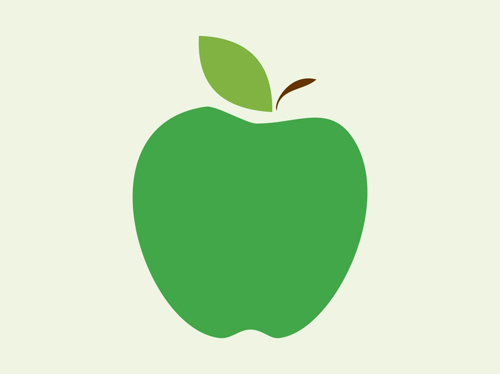 1024x765 Apple Vector Icon Vector Art Amp Graphics