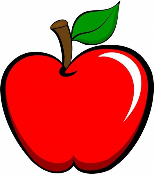 530x600 Apple Free Vector In Adobe Illustrator Ai ( Ai ), Encapsulated