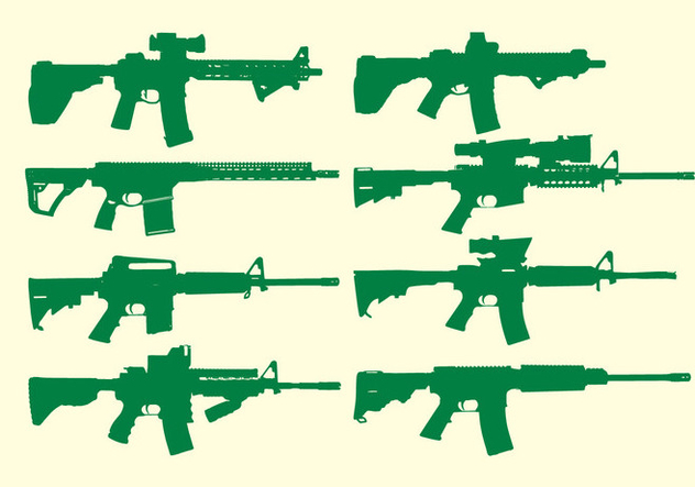 632x443 Ar15 Vector Free Vector Download 360621 Cannypic