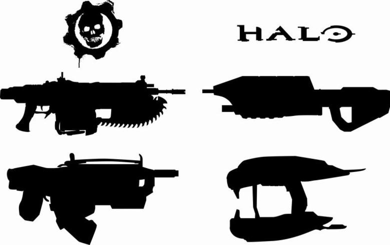 779x490 Halo, Gears Weapons