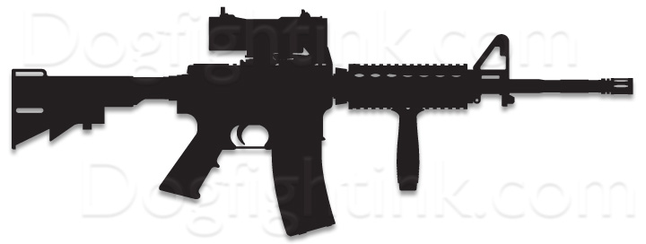 Ar 15 Silhouette Vector at GetDrawings | Free download