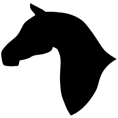 400x400 Horse Head Vector Free Download Clip Art On 2