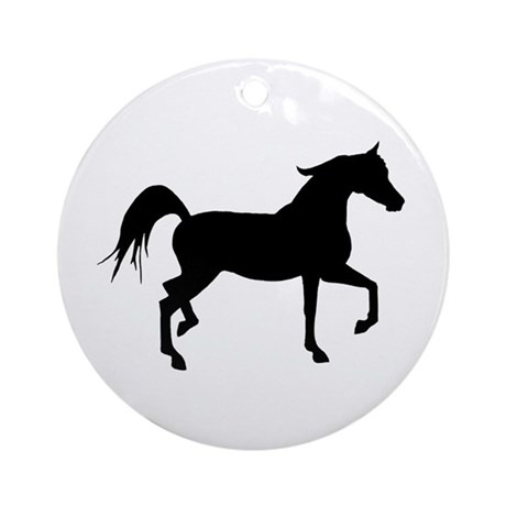 460x460 Arabian Horse Ornaments